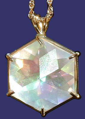 Angel Aura Flower of Life Pendant from www.Celestial-Lights.com