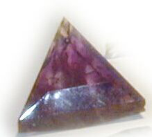 Amethyst Star of David Pyramid Crystal