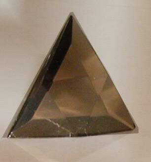 smokey quartz Star of David Vogel style Crystal
