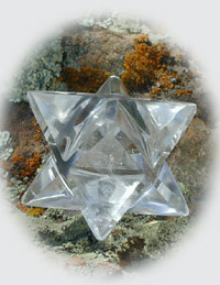 Pranava Activated Merkaba Crystal (large)