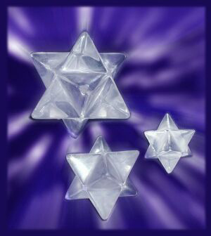 Pranava Activated Merkaba Crystals by Celestial Lights