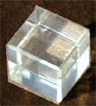 Platonic Solid Cube Crystal